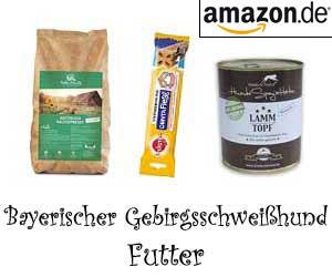 Bayerischer Gebirgsschweißhund Futter