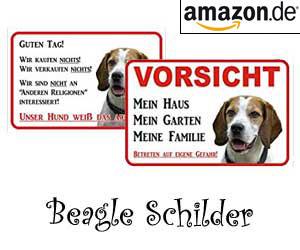 Beagle Schilder