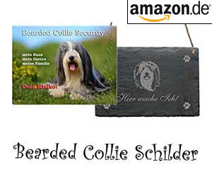 Bearded Collie Schilder