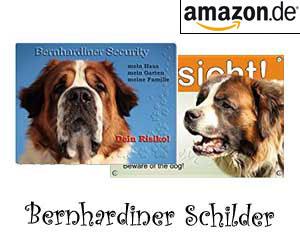 Bernhardiner Schilder