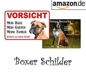 Boxer Schilder