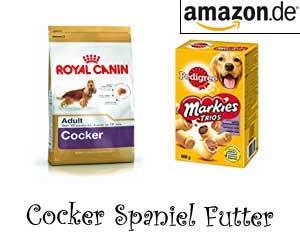 Cocker Spaniel Futter