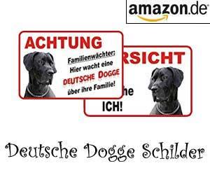 Deutsche Dogge Schilder