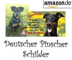 Deutscher Pinscher Schilder