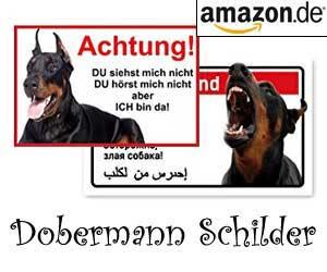 Dobermann Schilder
