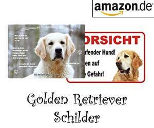 Golden Retriever Schilder