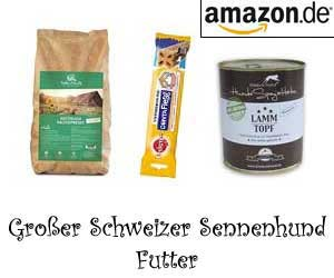 Großer Schweizer Sennenhund Futter