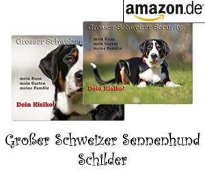 Großer Schweizer Sennenhund Schilder