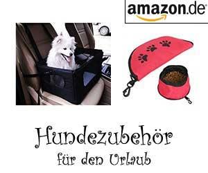 Hundezubehör für den Urlaub