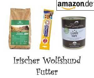Irischer Wolfshund Futter