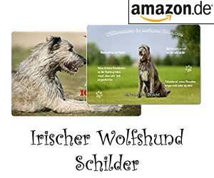 Irischer Wolfshund Schilder