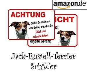 Jack-Russell-Terrier Schilder