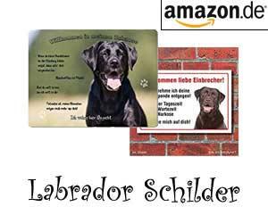 Labrador Schilder
