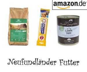 Neufundländer Futter