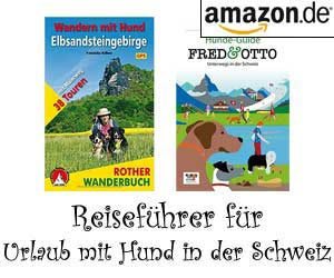 Reiseführer für Urlaub mit Hund in der Schweiz