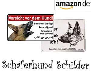 Schäferhund Schilder