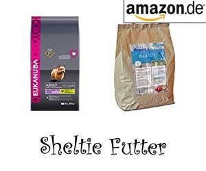 Sheltie Futter