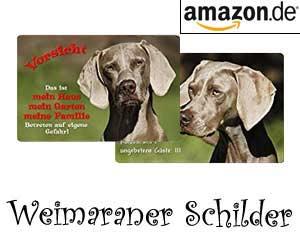 Weimaraner Schilder